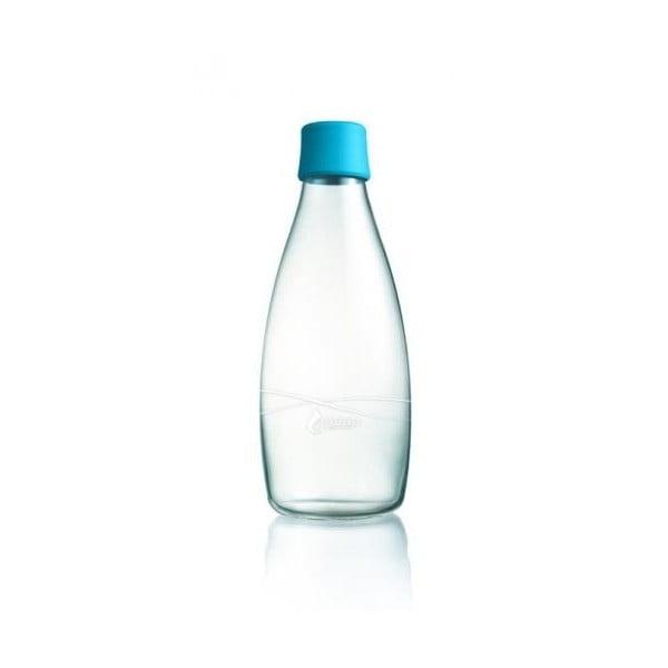 Jasnoniebieska butelka ze szkła ReTap z dożywotnią gwarancją, 500 ml
