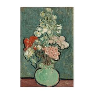 Obraz Vincenta van Gogha - Vase of Flowers, 40x26 cm