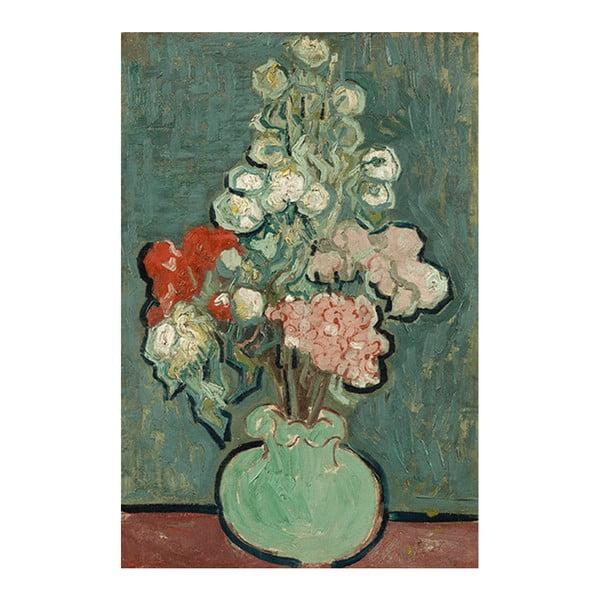 Reprodukcja obrazu Vincenta van Gogha - Vase of Flowers, 90x60 cm