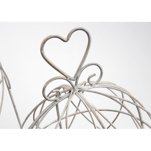 Komplet 2 klatek dekoracyjnych Heart Cages