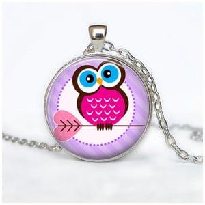 Damski łańcuszek z wisiorkiem Butoni de Camasa Pinkie Owl