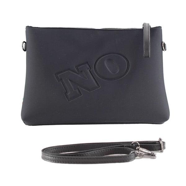 Neoprenowa kopertówka Yes/No, czarna