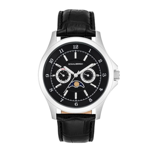 Zegarek męski Harstad Moonphase Black