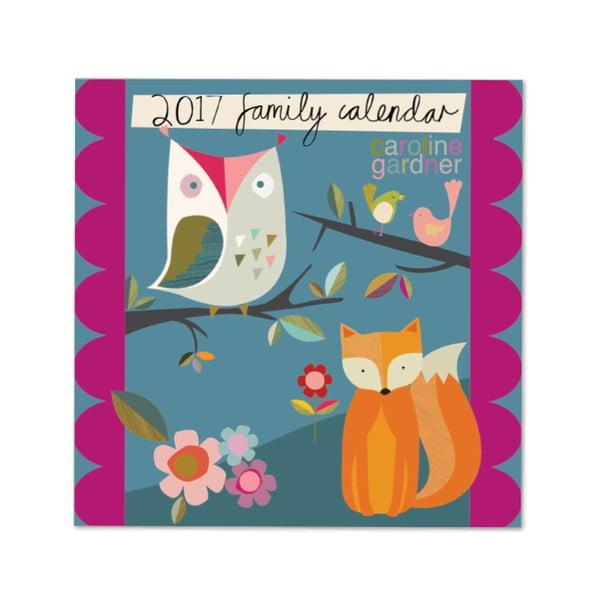Kalendarz rodzinny Portico Designs Muchly Lovely