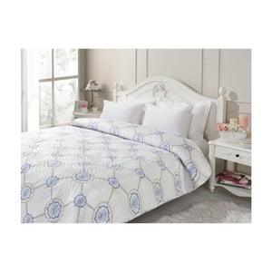 Biała narzuta na łóżko dwuosobowe Periwinkle, 240x260 cm