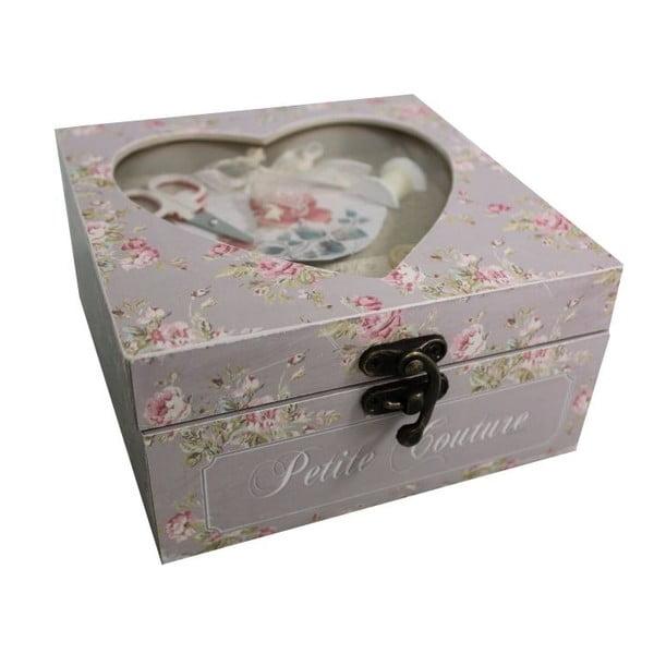 Pudełko na przybory do szycia Antic Line Petit Couture
