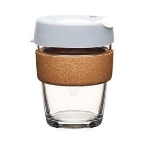 Kubek z pokrywką KeepCup Brew Cork Edition Fika, 340 ml