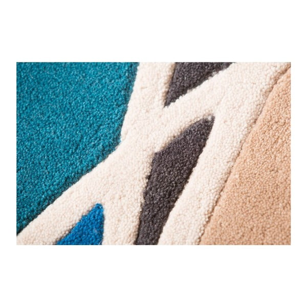 Dywan Flair Rugs Spectre Taupe/Teal, 120x170 cm