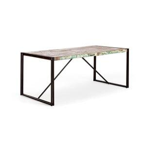 Stół do jadalni z drewna z recyklingu SOB Quebec