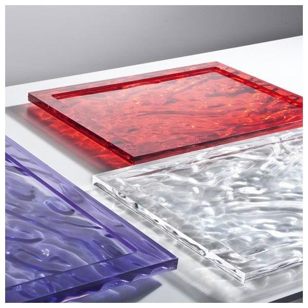 Taca Kartell Dune Crystal, 38x55 cm