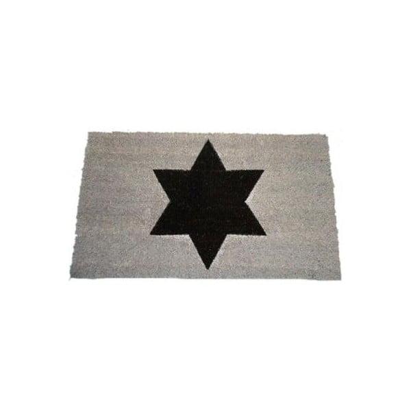 Wycieraczka Black Star 40x70 cm