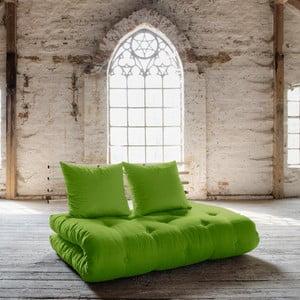 Sofa rozkładana Karup Shin Sano Natur/Lime
