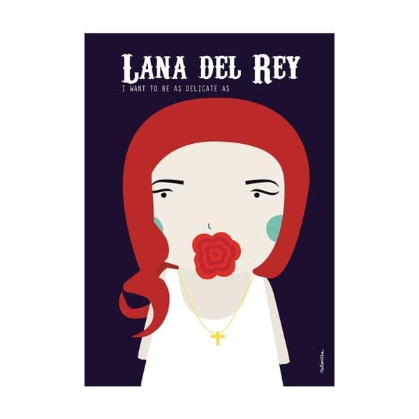 Plakat  I want to be like Lana del Rey