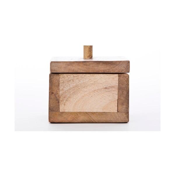 Drewniane pudełko NORR11 Casket Storage