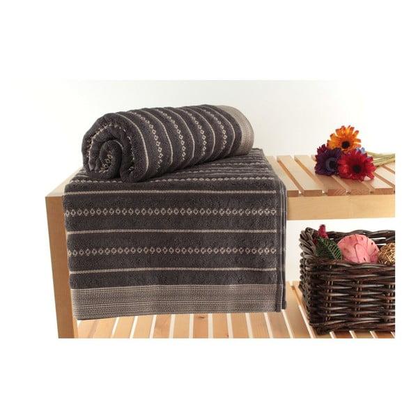 Zestaw 2 ręczników Bombeli Black, 90x150 cm