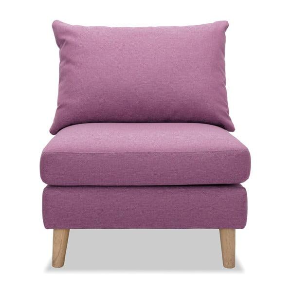 Różowy fotel Vivonita Liam