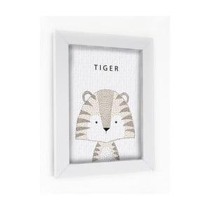 Obraz w ramie Tiger