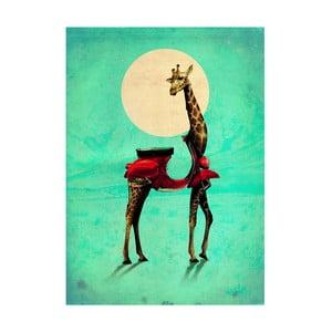 "Plakat autorski ""Giraffe"""