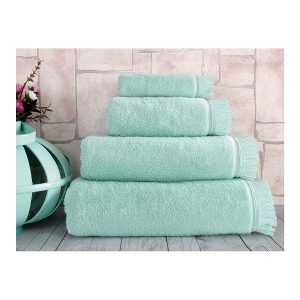 Miętowy ręcznik Irya Home Superior, 30x50 cm