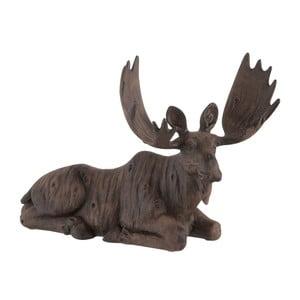 Dekoracja J-Line Moose Lying