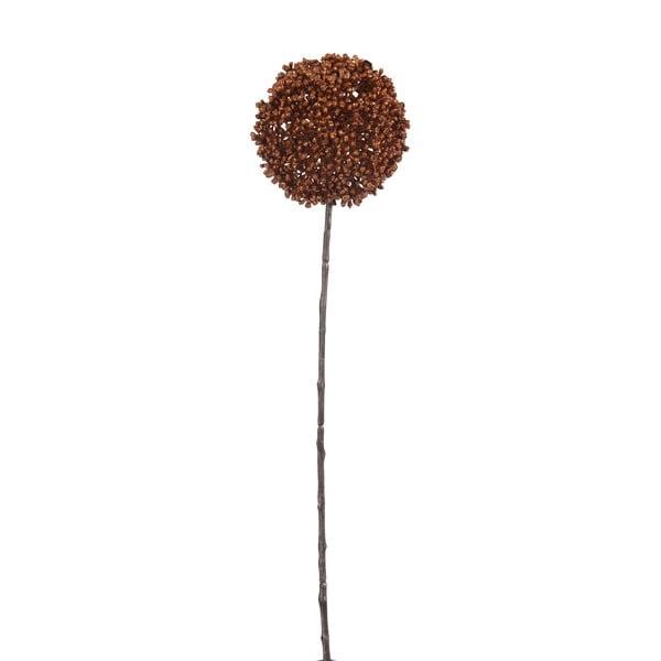 Dekoracja J-Line Onion Bulb Copper, 45 cm