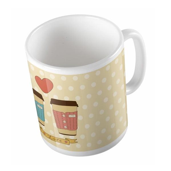 Ceramiczny kubek Cup of Love, 330 ml