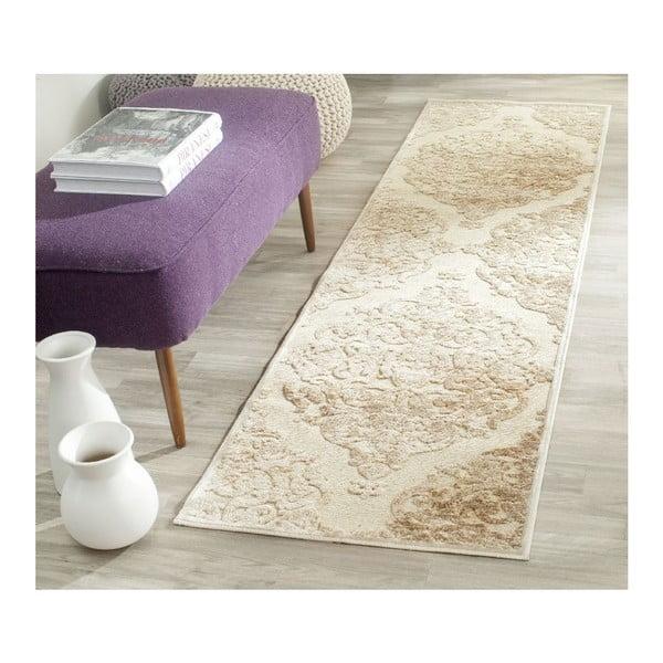 Beżowy dywan Safavieh Marigot, 66x243 cm