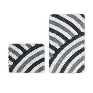 Zestaw 2 dywaników łazienkowych Lobby Grey