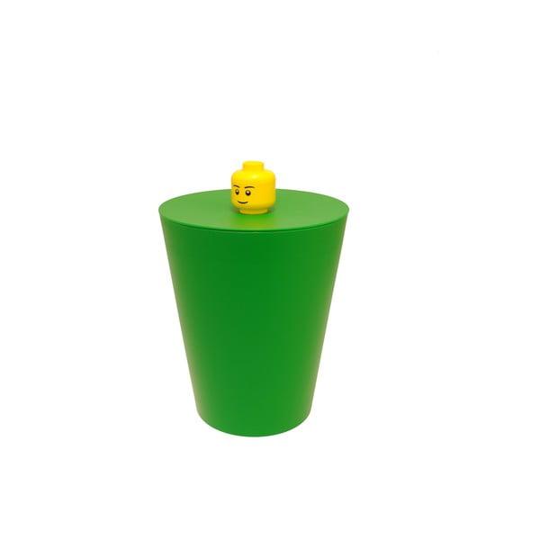 Kosz Lego, zielony