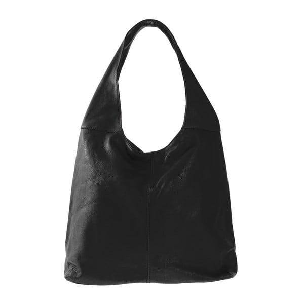 Czarna skórzana torebka Michela
