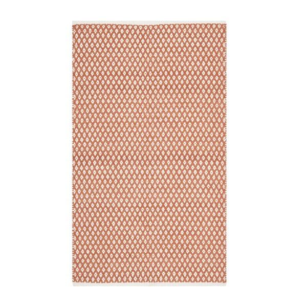 Dywan Nantucket 91x152 cm, czerwony