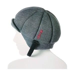 Szara czapka ochronna Ribcap Jackson, L