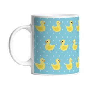 Ceramiczny kubek Happy Duckies, 330 ml