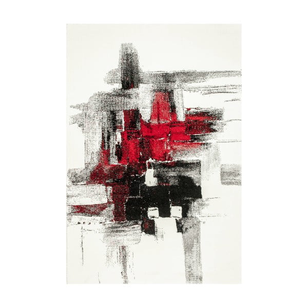 Dywan Farbles Black/Red, 200x290 cm