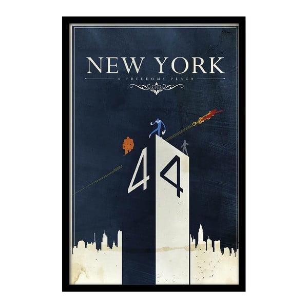 Plakat New York, 35x30 cm
