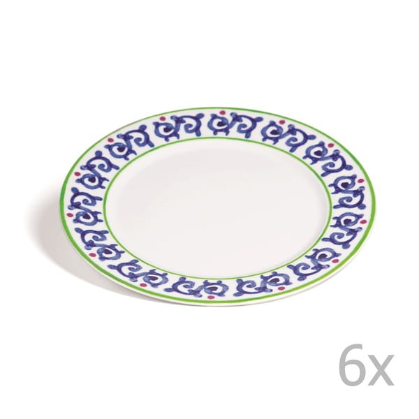Zestaw 6 talerzy Toscana Gimignano, 27 cm