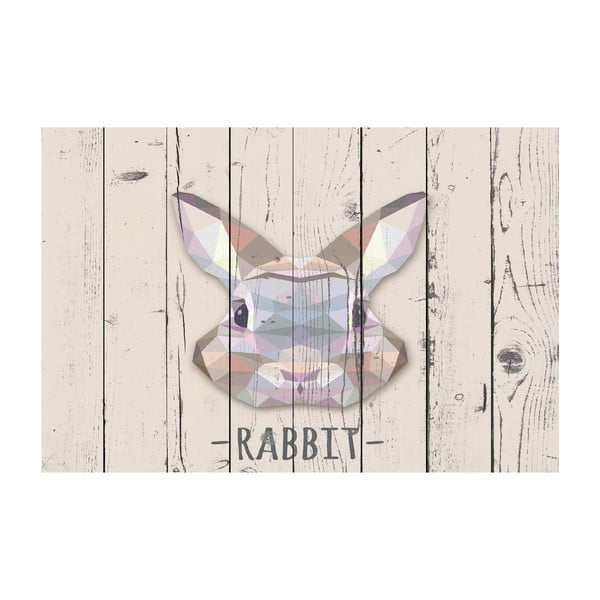 Dywan winylowy Rabbit, 100x150 cm