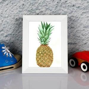 Obraz w ramie Dekorjinal Pouff Sweet Peanapple, 23x17cm