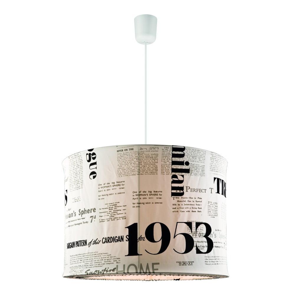 Lampa wisząca Lamkur Newspaper