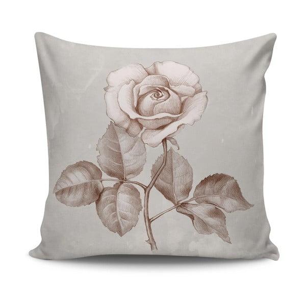 Poduszka z wypełnieniem Roses no. 1, 45x45 cm