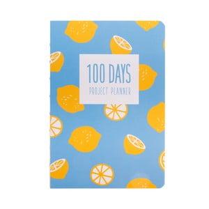 Organizer Languo 100 Days Citron