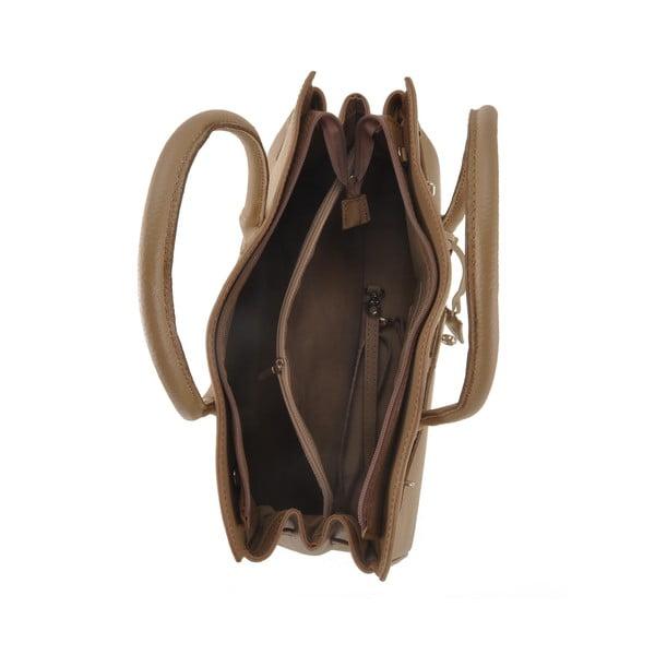 Skórzana torebka Gallina, brązowa