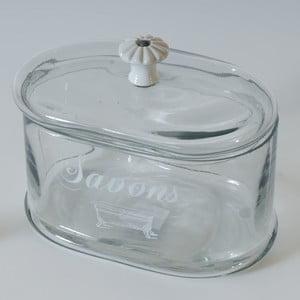 Pojemnik szklany z przykrywką Antic Line Savons
