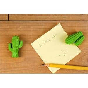 Komplet 2 gumek do mazania w kształcie kaktusa Kikkerland