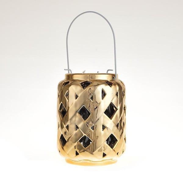 Ceramiczny lampion Gold Antique