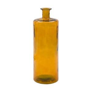 Pomarańczowy wazon ze szkła z recyklingu Mauro Ferretti Lop, wys.75cm