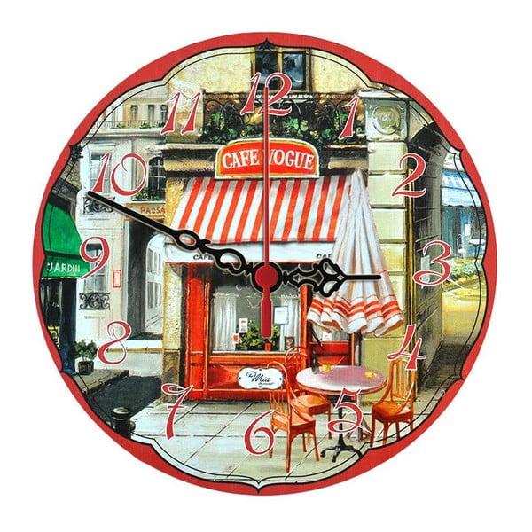 Zegar ścienny Cafe Vogue, 30 cm