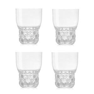 Zestaw 4 przezroczystych szklanek Kartell Jellies, 300ml