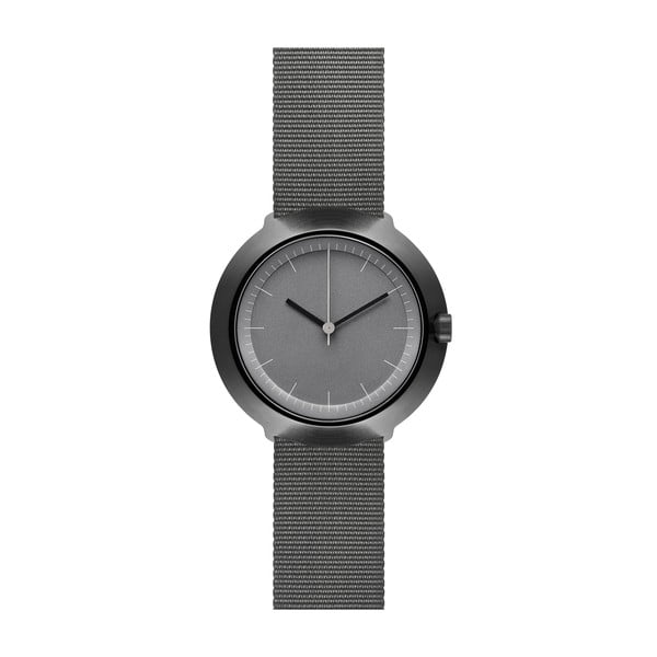 Zegarek Grey Fuji Grey Nylon, 43 mm