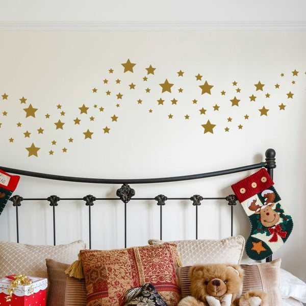 Naklejka 50 Golden Stars